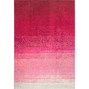 Arlean Ombre Pink Rectangular: 5 Ft. 3 In. x 7 Ft. 7 In. Rug