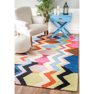 Aguirre Multicolor Runner: 2 Ft. 6 In. x 8 Ft. Rug