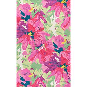 Multicolor Handmade Gagnon Rectangular: 7 Ft. 6 In. x 9 Ft. 6 In.