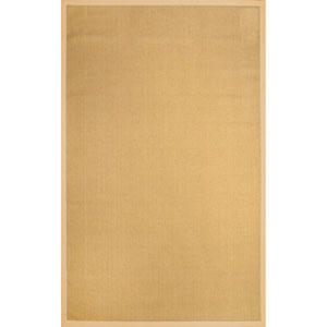 Laurel Jute Beige Rectangular: 9 Ft. x 12 Ft. Rug