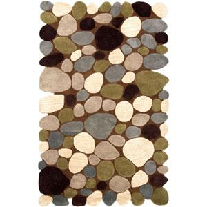 Brown Rectangular: 2 Ft. x 3 Ft. Rug
