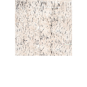 Milda Cotton Abstract Shaggy Ivory Rectangular: 4 Ft. x 6 Ft. Rug