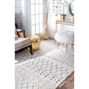 Blythe Grey Rectangular: 2 Ft. x 3 Ft. Rug
