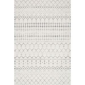 Blythe Grey Rectangular: 7 Ft. 10 In. x 10 Ft. 10 In.