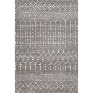 Blythe Dark Grey Rectangular: 8 Ft. x 10 Ft. Rug
