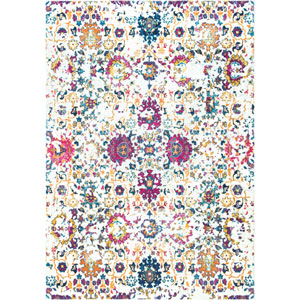 Multicolor Rectangular: 5 Ft. x 7 Ft. 5 In. Rug