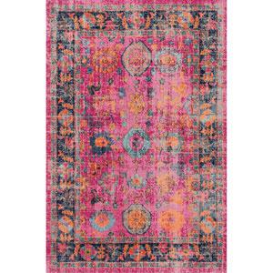 Pink Rectangular: 4 Ft. x 6 Ft. Rug