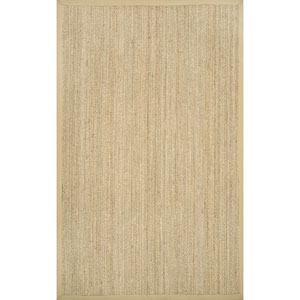 Elijah Seagrass Beige Rectangular: 9 Ft. x 12 Ft. Rug
