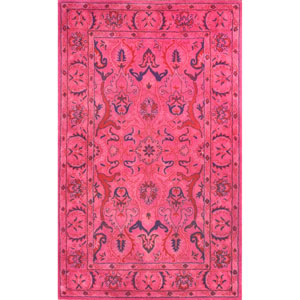Pink Rectangular: 2 Ft. x 3 Ft. Rug