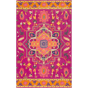 Magenta Runner: 2 Ft. 6 In. x 10 Ft. Rug