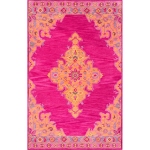 Pink Rectangular: 4 Ft. x 6 Ft. Rug