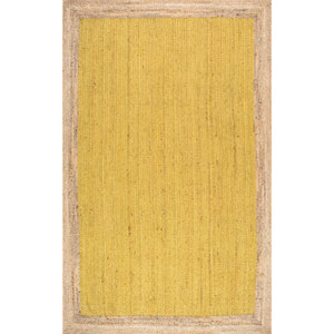 Yellow Rectangular: 2 Ft. x 3 Ft. Rug