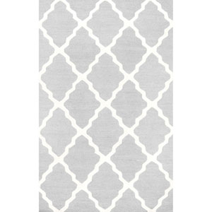 Light Grey Rectangular: 2 Ft. x 3 Ft.