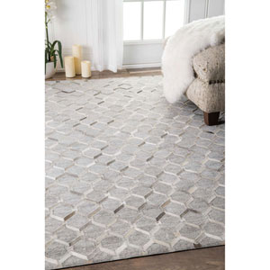 Grey Rectangular: 9 Ft. x 12 Ft. Rug