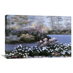 Blooming Isle By Diane Romanello, 30 X 20-Inch Wall Art