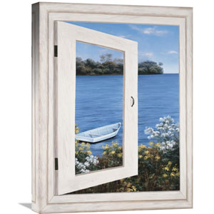 Bay Window Vista I By Diane Romanello, 18 X 24-Inch Wall Art