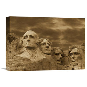 Mount Rushmore National Monument, South Dakota By Tim Fitzharris, 12 X 16-Inch Wall Art