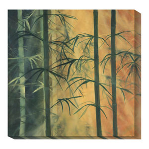 Bamboo Groove I by Kate Ruff: 36 x 36 Canvas Giclees