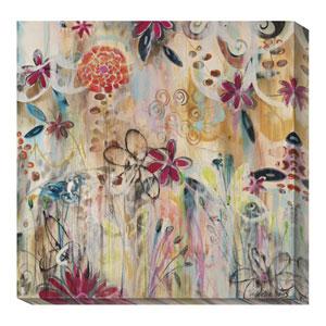 Garden of Summers Renewal by Joan Elan Davis: 36 x 36 Canvas Giclees