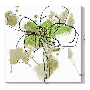 Butterfly Flower I by Jan Weiss: 36 x 36 Canvas Giclees