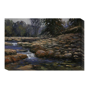 Quietly Through the Rocks by Bruce Braithwaite: 36 x 24 Canvas Giclees