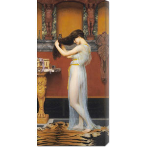 The Toilet by John William Godward: 16.7 x 36 Canvas Giclees, Wall Art