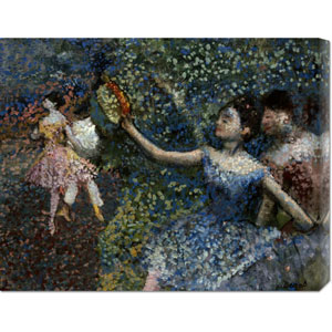 Dancer With a Tambourine by Edgar Degas: 30 x 19.71 Canvas Giclees, Wall Art