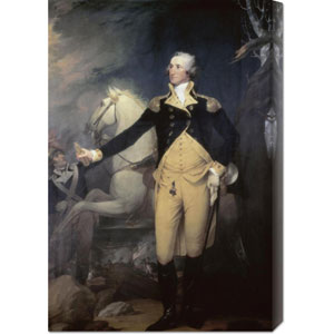 Portrait of General George Washington by Robert Muller: 20.3 x 30 Canvas Giclees, Wall Art