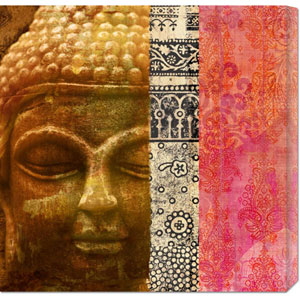 Siddhartha by Joannoo: 24 x 24 Canvas Giclees, Wall Art