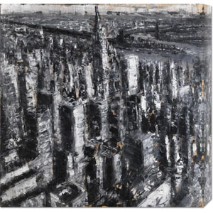 NYC III by Paolo Ottone: 24 x 24 Canvas Giclees, Wall Art