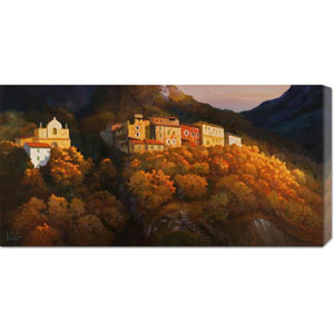 Paese Sul Monte by Adriano Galasso: 36 x 18 Canvas Giclees, Wall Art
