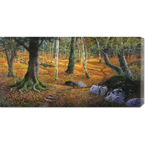 Sottobosco by Adriano Galasso: 36 x 18 Canvas Giclees, Wall Art