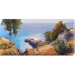 Orizzonte Mediterraneo by Adriano Galasso: 36 x 18 Canvas Giclees, Wall Art