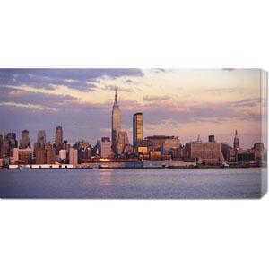 Skyline of New York City: 36 x 18 Canvas Giclees, Wall Art