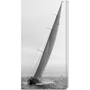 Sailboat Racing, 1934: 18 x 36 Canvas Giclees, Wall Art