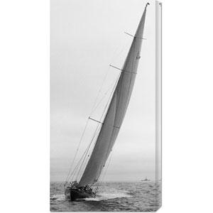 Sailboat Racing, 1934: 18 x 36 Canvas Giclees, Wall Art