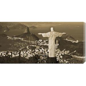 Overlooking Rio de Janeiro by Danny Lehman: 36 x 18 Canvas Giclees, Wall Art