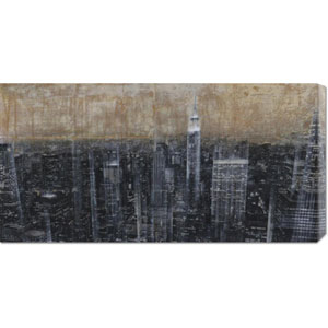 NYC Aerial III by Dario Moschetta: 36 x 18 Canvas Giclees, Wall Art