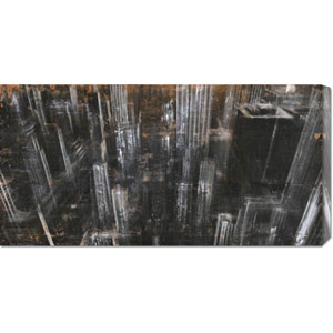 NYC Aerial I by Dario Moschetta: 36 x 18 Canvas Giclees, Wall Art