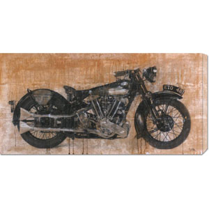 Brough Superior by Dario Moschetta: 36 x 18 Canvas Giclees, Wall Art