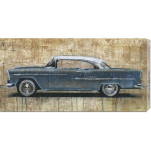 Vintage Blue by Dario Moschetta: 36 x 18 Canvas Giclees, Wall Art
