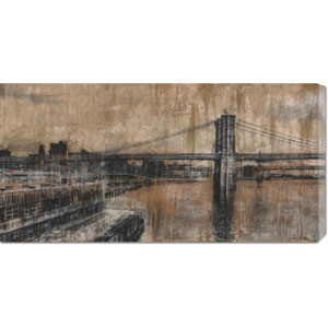 Brooklyn Bridge I by Dario Moschetta: 36 x 18 Canvas Giclees, Wall Art
