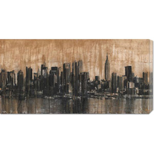 NYC Skyline I by Dario Moschetta: 36 x 18 Canvas Giclees, Wall Art