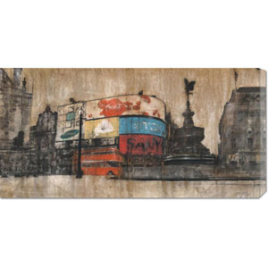 Piccadilly Circus I by Dario Moschetta: 36 x 18 Canvas Giclees, Wall Art
