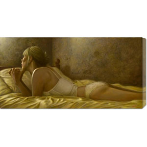 Meditation by John Silver: 36 x 18 Canvas Giclees, Wall Art