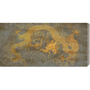 Golden Dragon by Joannoo: 36 x 18 Canvas Giclees, Wall Art