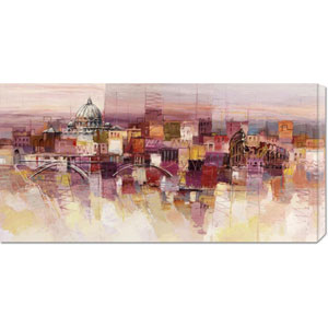 Sognando Roma by Luigi Florio: 36 x 18 Canvas Giclees, Wall Art