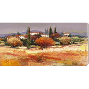 Colline Assolate by Luigi Florio: 36 x 18 Canvas Giclees, Wall Art