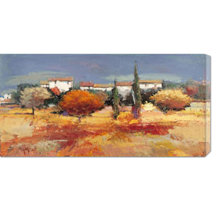 Campagna Nel Sole by Luigi Florio: 36 x 18 Canvas Giclees, Wall Art