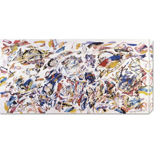 Arie Colorate, 1993 by Nino Mustica: 36 x 18 Canvas Giclees, Wall Art